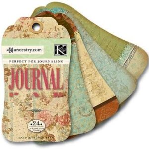 AC Journal Tag Pad - ancestry.com
