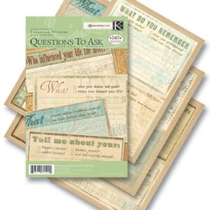 AC Questions to Ask Cardstock Pad - ancestry.com