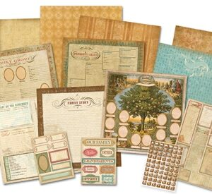 AC Scrap Kit - Heritage - Ancestry.com