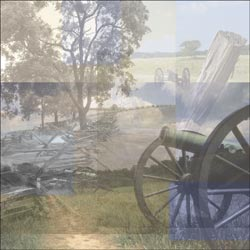 Paper House - Civil War Paper - Gettysburg Map