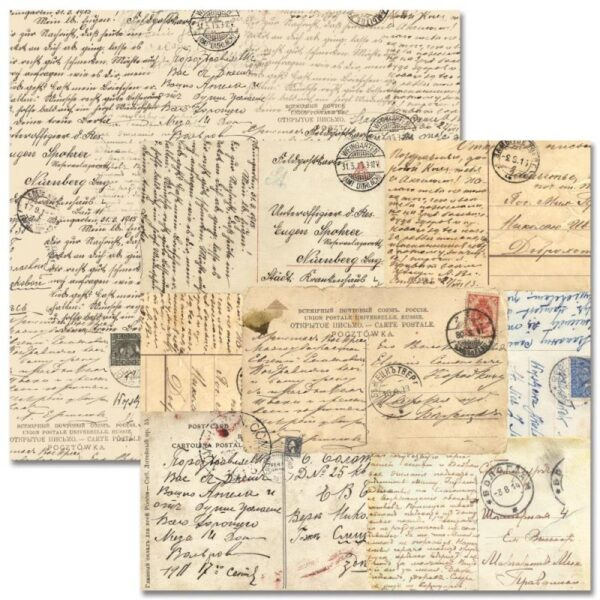 Teresa Collins - Far & Away - Postcards Paper