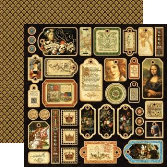 Graphic 45 - Renaissance Faire - Renaissance Faire Tags