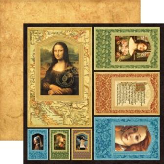 Graphic 45 - Renaissance Faire Collection - 12 x 12 Die Cuts - Frames