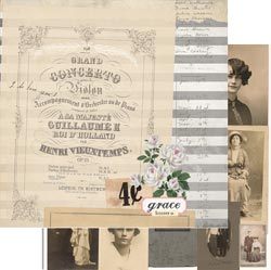 7 Gypsies - Trousseau Double-Sided Paper - Grace