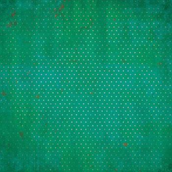 Bo Bunny - Vintage Double Dot - Turquoise