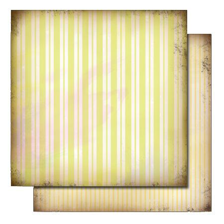 Glitz - Love Nest Double Sided Paper - Stripe