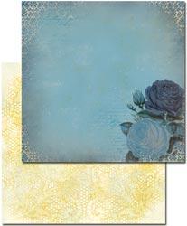 Glitz Designs - Vintage Blue - Rose