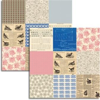 Jenny Bowlin - Wren Collection - Mini Pattern Sheet