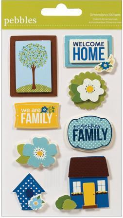 Family Ties - Dimensional Stickers