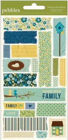 Family Ties - Masking Tape Stickers