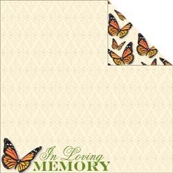 Reminisce - In Loving Memory - 12 x 12 Paper