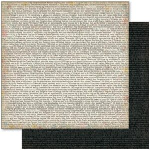 Nostalgia - Nevermore - 12 x 12 paper
