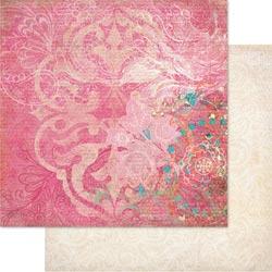 Le Jardin - Flourish - 12 x 12 paper