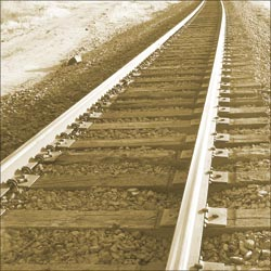 Sugar Tree Papers - Train Tracks