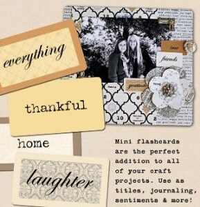 Teresa Collins - Vintage Finds - Flashcards
