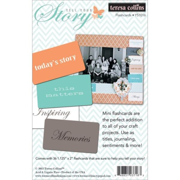 Teresa Collins - Tell Your Story - Flashcards