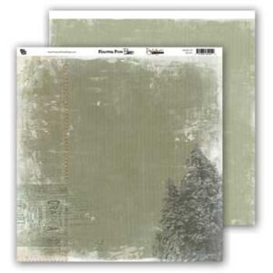 Donna Salazar - Pinecone Press Papers - Frosty Fir