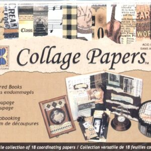 Heritage Ephemera Collage Papers