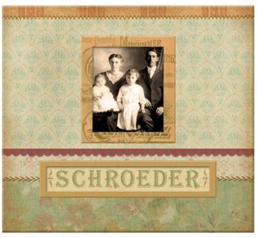 AC Frame-A-Name Postbound Album - ancestry.com