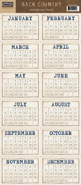 Back Country Collection - Calendar