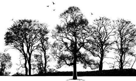 Crafty Individuals - Tree Border