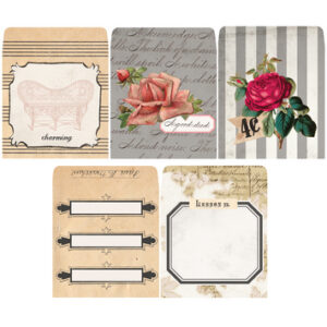 7 Gypsies - Trousseau - Charming - Tag Envelopes