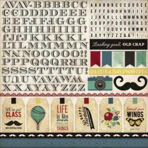 Echo Park - Times & Seasons - Alpha Stickers