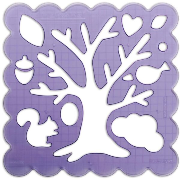 "Woodland Tree - Shape Templates 12""X12"""