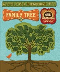 K&Company - Family Tree Sticker Medley