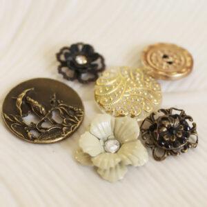 Prima Marketing - Printery Vintage Buttons
