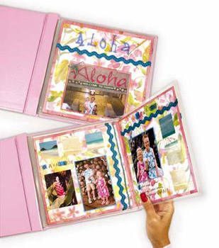 """12"""" X 12"""" Memory Book Panoramic Fold-Out"""