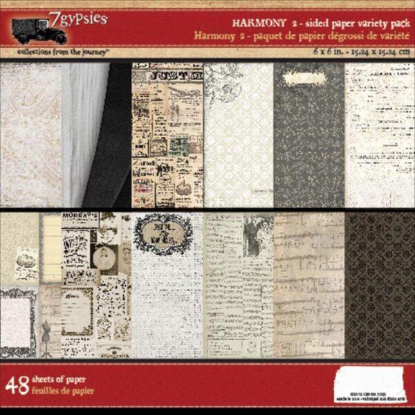 "7 Gypsies - Harmony Paper Pack 6"" x 6"""