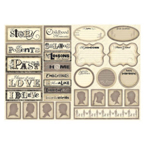 Scrapbook Customs - Family History Stickers