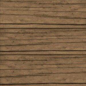 "Scrapbook Customs - Dark Brown Wood - 12"" x 12"""