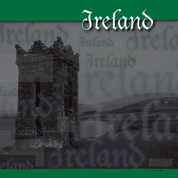 """Scrapbook Customs - Ireland Composition 1 - 12"""" x 12"""""""
