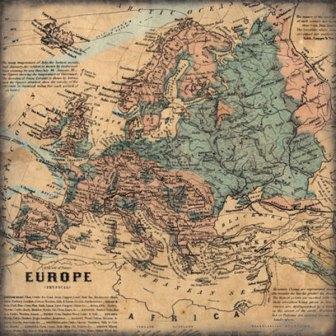 """Scrapbook Customs - Europe - 12"""" x 12"""""""