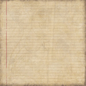 "Scrapbook Customs - Travel - Lined Paper - 12"" x 12"""