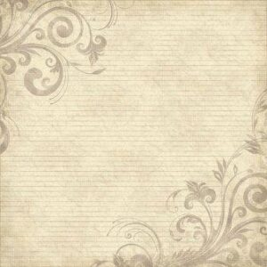 "Scrapbook Customs - Family History Lines & Swirls - 12"" x 12"""