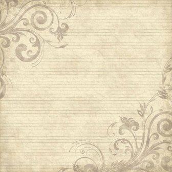 "Scrapbook Customs - Family History Lines & Swirls - 12"" x 12"""