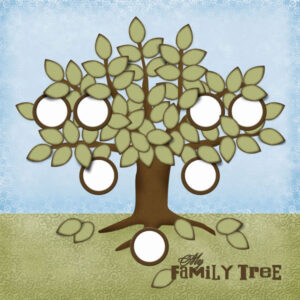 "Scrapbook Customs - Family Tree - 12"" x 12"""