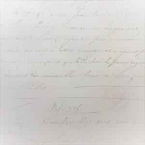 Isabella Script Printed Flat Paper