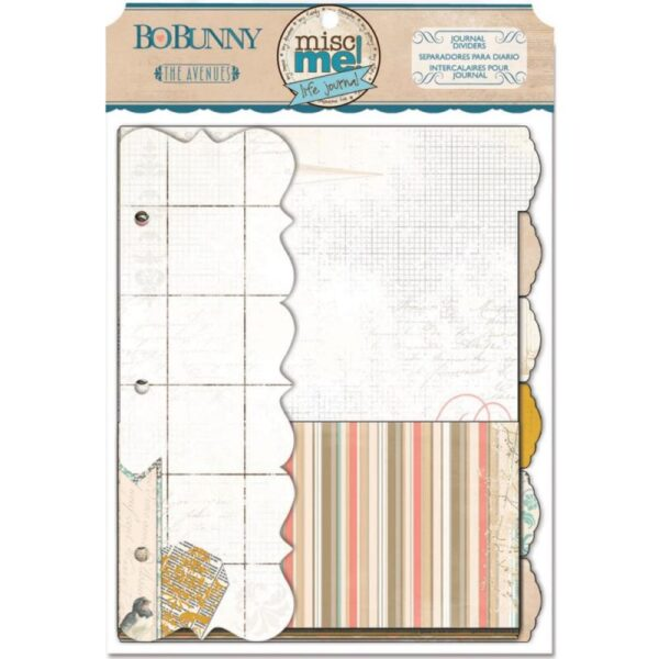 Misc Me - The Avenues - Journal Dividers