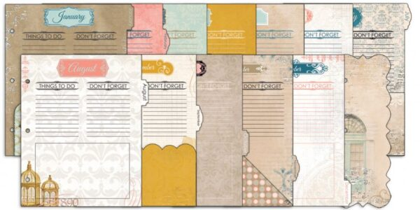 Misc Me - The Avenues - Calendar Dividers