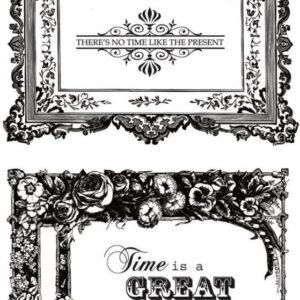 Miss Empire - Kaisercraft - Frames - Clear Stamps