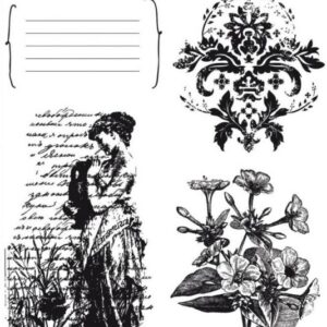 Charlotte's Dream - Journal - Clear Stamps