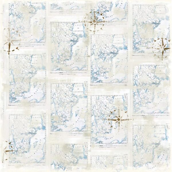 Magnolia - Summer Memories - Scandinavian Map