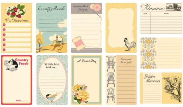 Farmhouse - Journal Cards