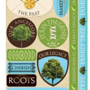 Signature Collection - Family Tree Stickers