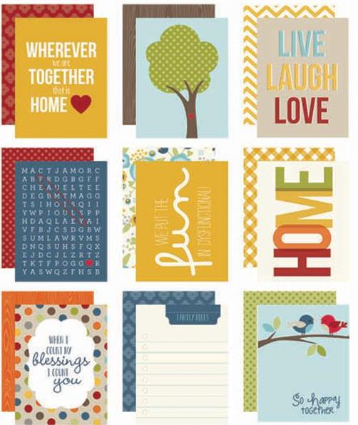 "Sn@p! Family - Card Pack 3""X4"""