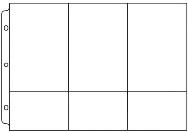 "Photo Sleeve – Multi Pockets – 12"" x 8"""